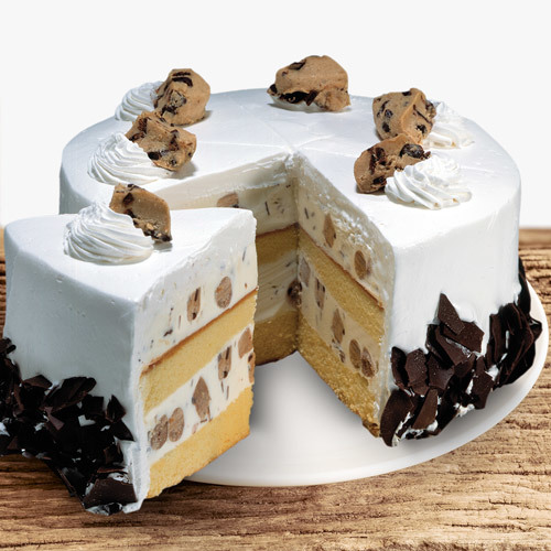Coldstone Cookie Dough Delirium Ice Cream Cake