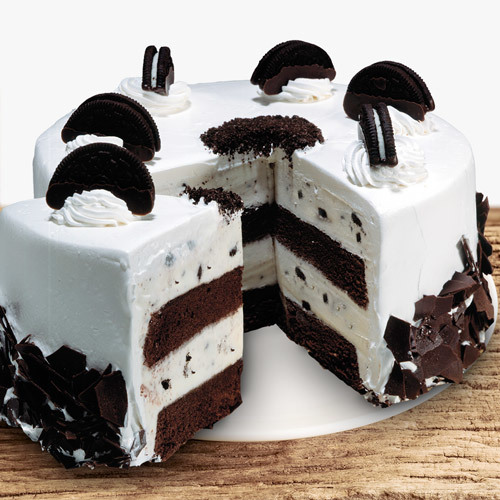 Coldstone Cookies and Creamery Ice Cream Cake