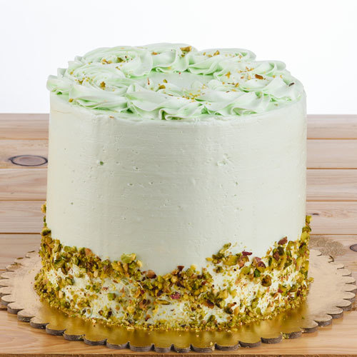 Pistachio Layered Sponge by Pastel (Serves 16)