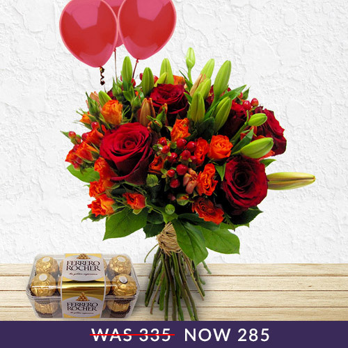 Secret Garden Bundle Flowers| Buy Flowers in Dubai UAE | Gifts