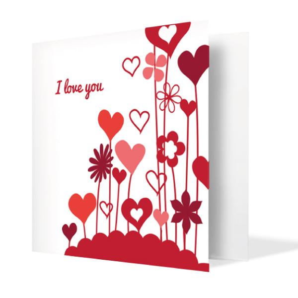 Blooming Love Card | Buy Stationary in Dubai UAE | Gifts